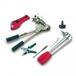 Инструмент и аксессуары для монтажа труб