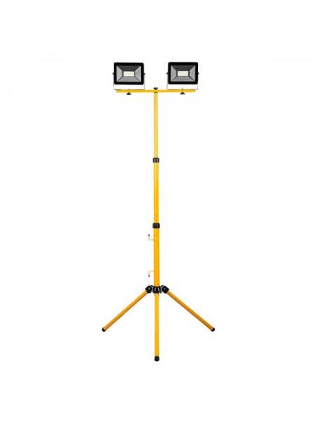 Прожектор на штативе Feron LL-503 2*50W 6400К 220V черный IP65 29568
