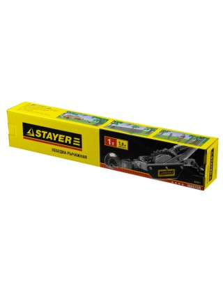 Автомобильная лебедка STAYER 1т / 1,8м 4310-1