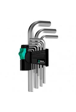 Набор Г-образных ключей WERA WE-021406