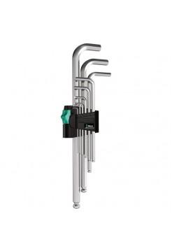 Набор Г-образных ключей с шариком Wera WE-022087