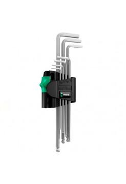 Набор Г-образных ключей 950 PKL/7B SM N CLIP 7TLG / 7 PCS MAGNET WERA WE-022101