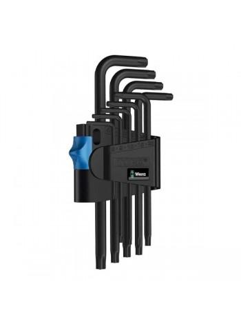 Набор Г-образных ключей 967 L/9 HF CLIP 9TLG/ 9 PCS WERA WE-024244