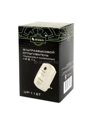 Универсальный стационарный ультразвуковой отпугиватель 4 в 1 ЭКОСНАЙПЕР UP-116T
