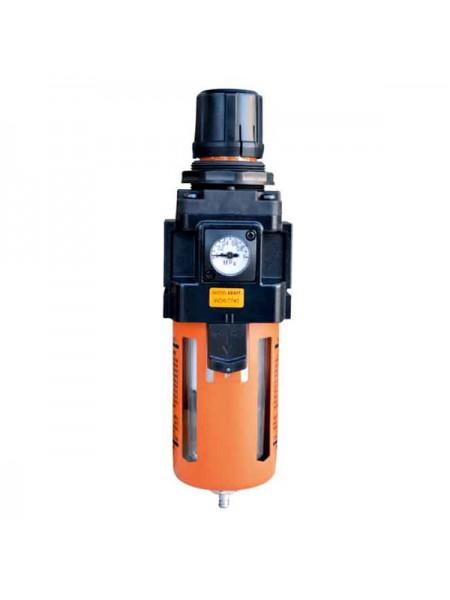 Фильтр-масло/влагоотделитель с регулятором и манометром WIEDERKRAFT WDK-7740