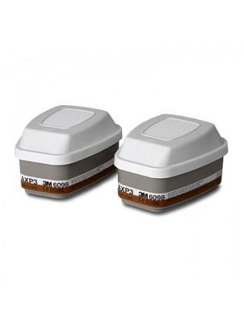 Фильтр 3М™ 6098 (АХР3) для полных масок серии 6000