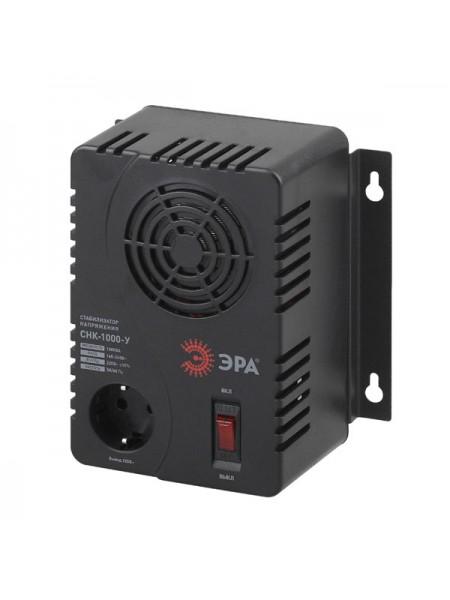 Компактный универсальный стабилизатор напряжения ЭРА СНК-1000-У 160-260В/220В, 1000ВА Б0031064