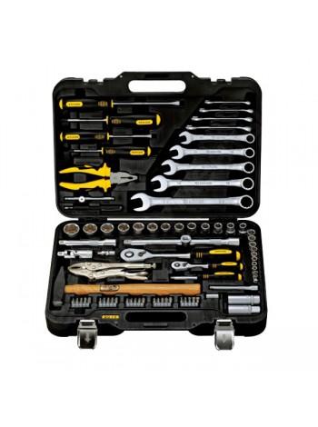 Универсальный набор инструментов 78 предметов Berger BG BG078-1214