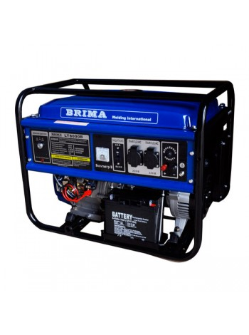 Бензиновый генератор BRIMA LT 8000 B