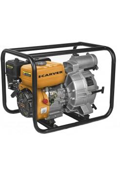 Мотопомпа CARVER CGP 5580 D для грязной воды (4-х тактн.)