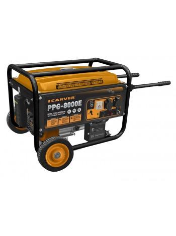 Электрогенератор бензиновый CARVER PPG 8000E