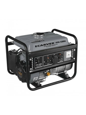 Электрогенератор бензиновый CARVER PPG 1200A