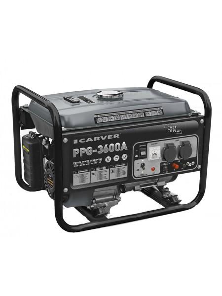 Электрогенератор бензиновый CARVER PPG 3600A