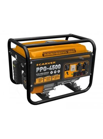 Электрогенератор бензиновый CARVER PPG 4500