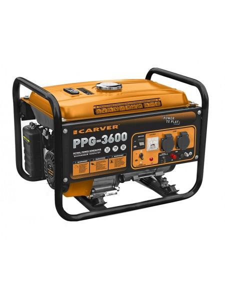 Электрогенератор бензиновый CARVER PPG 3600