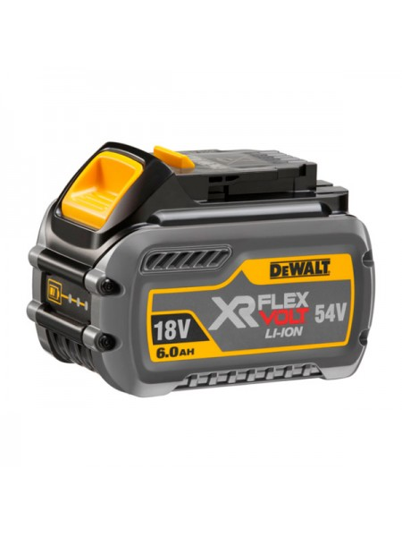 Аккумулятор (54/18 В; 6.0 А*ч; Li-Ion) DEWALT DCB546