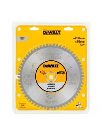 Пильный диск по алюминию EXTREME (250х30 мм; 60 зубьев TCG) Dewalt DT1915