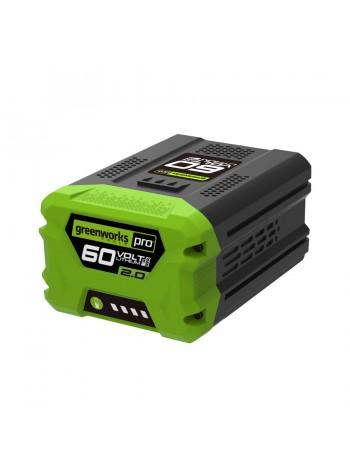 Аккумулятор (2 А*ч; 60 В) G60B2 Greenworks 2918307