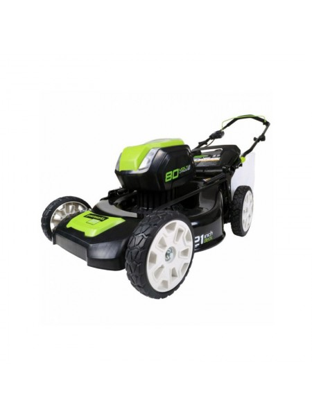 80V Pro 80V Газонокосилка 51 см GREENWORKS GD80LM53 DigiPro