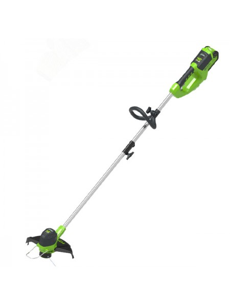 G-MAX 40V Триммер 30 см GREENWORKS GD40LT30 плюс