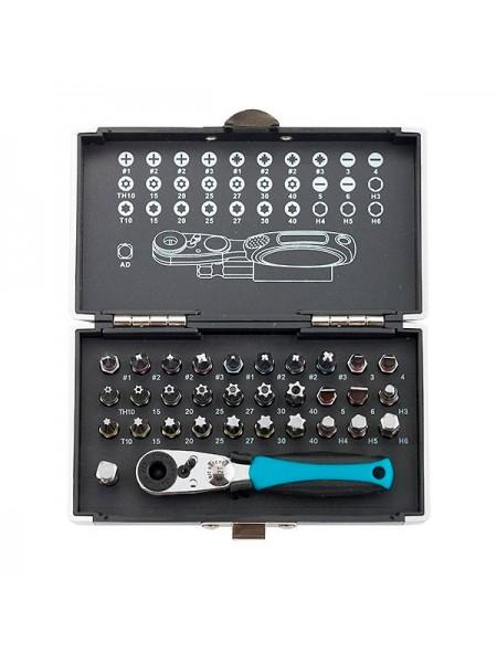Набор бит и магнитный адаптер (33 предмета) GROSS 11365