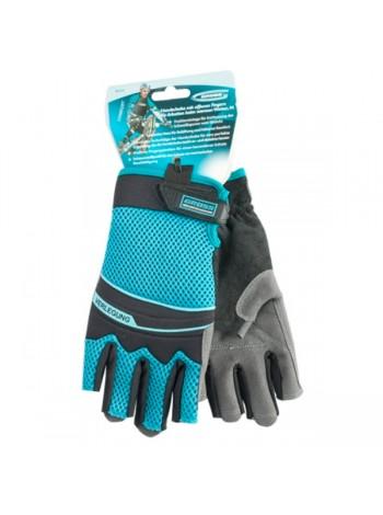 Перчатки комбинированные облегченные с открытыми пальцами (XL) GROSS 90317