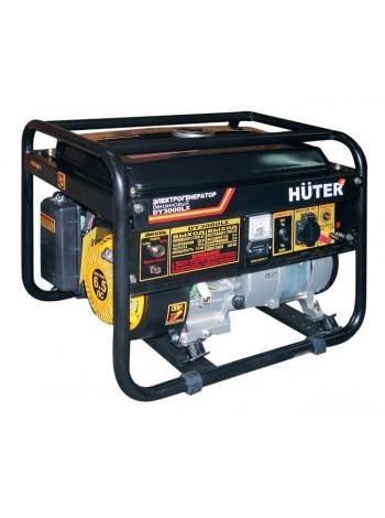 Электрогенератор бензиновый HUTER DY 3000 LX - электростартер