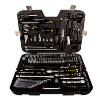 Набор инструментов Inforce 150 предметов 1/2 дюйма и 3/8 дюйма 06-07-21