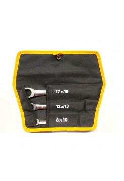 Набор накидных трещоточных ключей Inforce 06-05-91