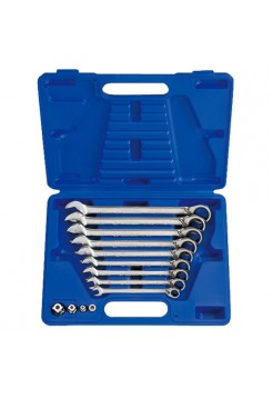 Набор трещоточных ключей, 8-19 мм, кейс, 13 предметов KING TONY 13113MR