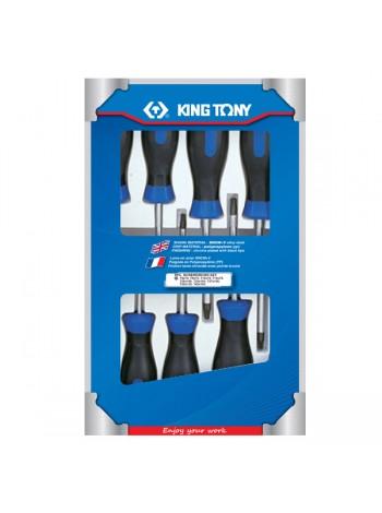 Набор отверток в коробке, TORX, 9 предметов KING TONY 30309PR