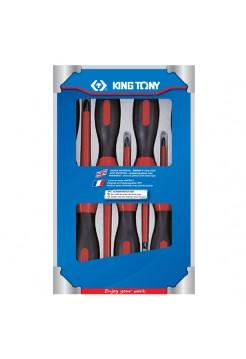 Набор отверток, диэлектрические, 7 предметов KING TONY 30617MR