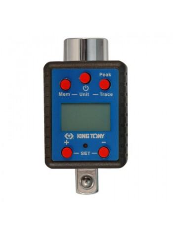 Электронный динамометрический адаптер 3/4, 100-500 Нм, KING TONY 34607-1A