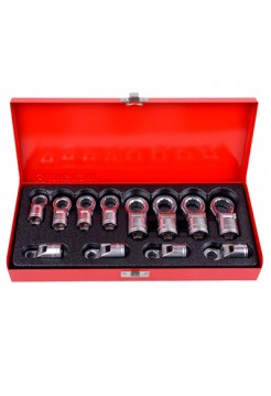 Набор накидных ключей, 8-19 мм, 12 предметов KING TONY 3602MR