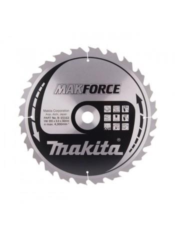 Пильный диск по дереву (355х30 мм; 24T) Makita B-35162