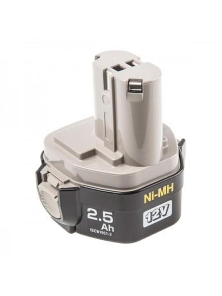 Аккумулятор кубический 12 В; 2.5 А*ч для шуруповертов 1234 Makita 193100-4