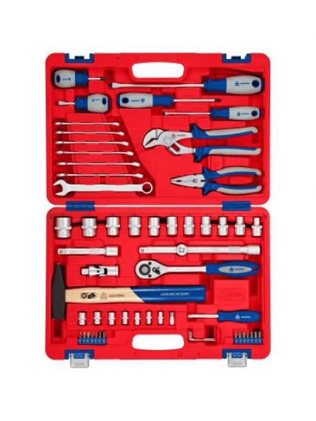 Универсальный набор инструментов 58 предметов МАСТАК 01-058C