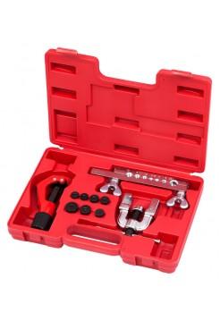 Приспособление для развальцовки и резки тормозных трубок, 4-16 мм, кейс, 10 предметов МАСТАК 102-12416C