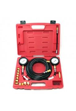 Манометр для измерения давления масла, 2 манометра 7 и 35 бар, комплект адаптеров МАСТАК 120-20023C