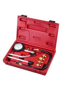 Компрессометр бензиновый, 0-20 атм, кейс, 8 предметов МАСТАК 120-10008C