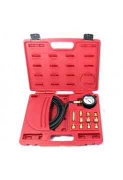 Манометр для измерения давления масла, 0-21 бар, комплект адаптеров МАСТАК 120-20012C