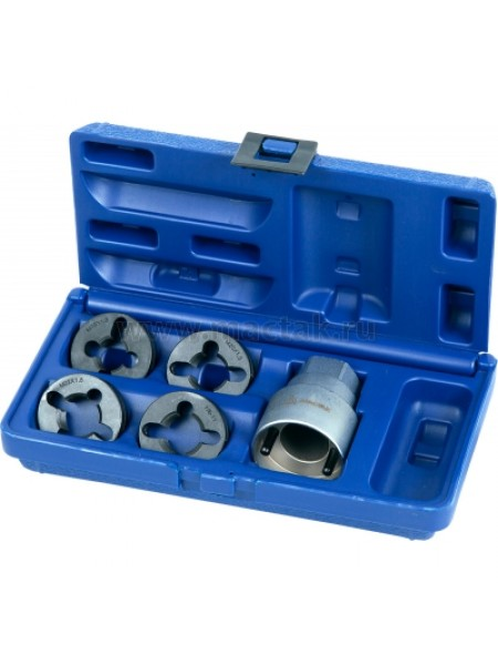 Набор для восстановления резьбы на колёсных шпильках 5 предметов МАСТАК 352-00001C