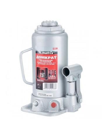 Гидравлический бутылочный домкрат г/п 15т MATRIX MASTER 50729