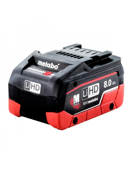 Аккумулятор LiHD 18 В, 8.0 А*ч Metabo 625369000