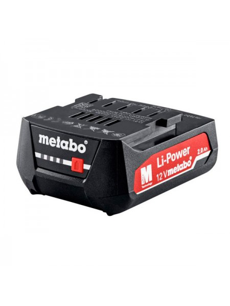Аккумулятор 12,0 В, 2,0 Aч, Li-Power Metabo 625406000