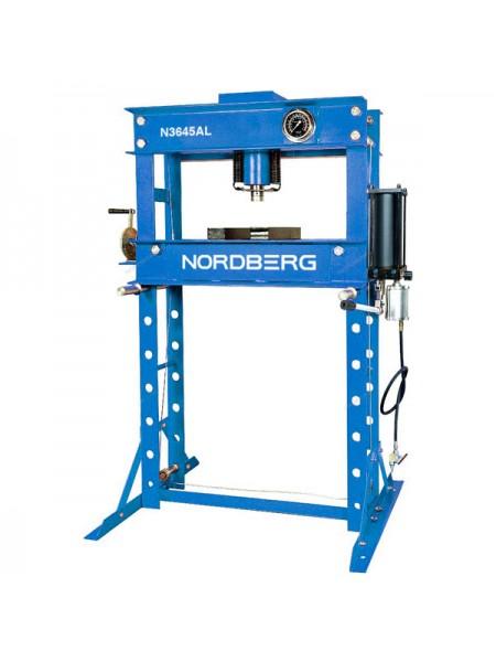Пресс с пневмоприводом, усилие 45 тонн NORDBERG ECO N3645AL