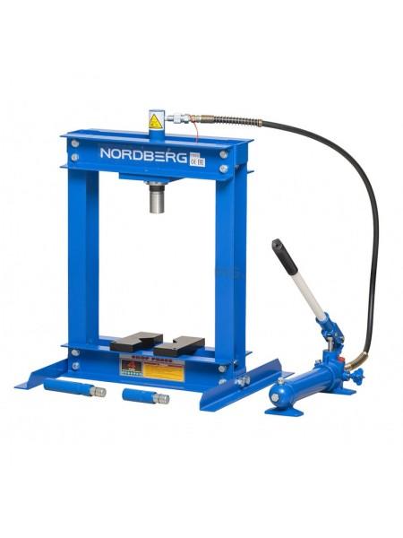Пресс, усилие 4 тонны NORDBERG ECO N3604L