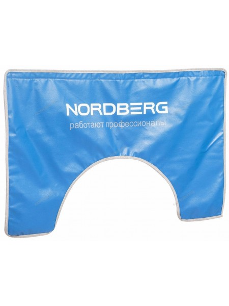 Накидка на крыло 110х65 с магнитом и подкладкой, с лого NORDBERG NN1