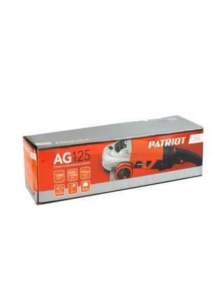 Углошлифовальная машина PATRIOT AG 125