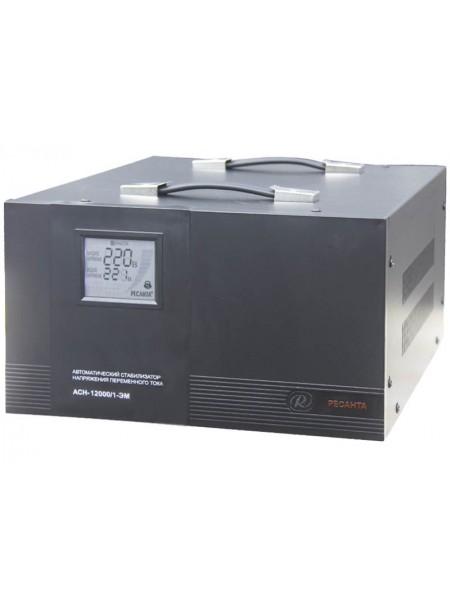 Однофазный стабилизатор напряжения Ресанта ACH-12000/1-ЭМ